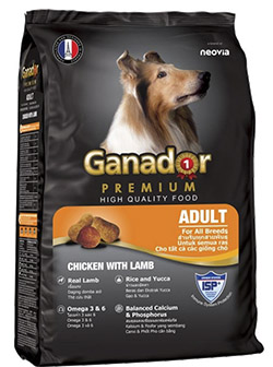 Đánh giá thức ăn cho chó Ganador Premium cho chó lớn
