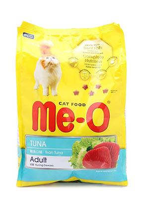 Thức ăn cho mèo Me-O tiếng trung