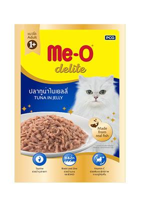 Thức ăn ướt Me-O cho mèo
