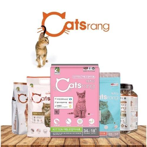 đánh giá thức ăn khô cho mèo catstang